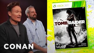 Download Conan O'Brien Reviews ″Tomb Raider″ - Clueless Gamer - CONAN on TBS Video