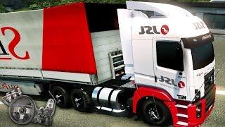 Download Euro Truck Simulator 2 - Mapa RBR - Volkswagen Constellation - Agora sou piloto! - Com Logitech G27 Video