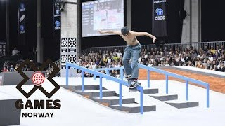 Download Jagger Eaton wins Men's Skateboard Street silver | X Games Norway 2018 Video