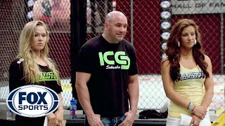 Download Rousey and Tate pick their teams - TUF 18 Video