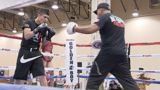 Download CANELO v SMITH - MEDIA WORKOUT FOOTAGE (TEXAS) - ROSADO, MONROE JR, DE LA HOYA, LIAM SMITH & MORE Video