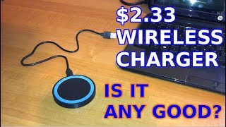 Download $2.33 Wireless Charger. Is It Any Good? Video