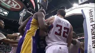 Download Lakers and Clippers FIGHT [HD] (1/17/11) Video