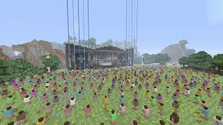 Download Minecraft Xbox - Music Festival ( Concert Stage ) Martin Garrix Themed Video