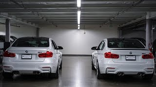 Download BMW M3 Competition Exhaust vs. M Performance Exhaust Video