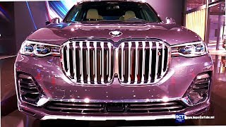 Download 2019 BMW X7 xDrive50i - Exterior and Interior Walkaround - Debut 2018 LA Auto Show Video