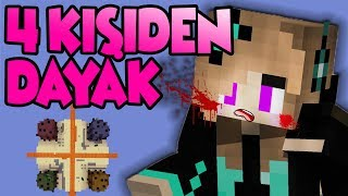 Download 4 KİŞİ ANKA LEYDİYİ DÖVDÜ ! | MİNECRAFT MİCRO BATTLE Video