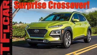 Download Surprise! A New Tiny Crossover is Born: 2018 Hyundai Kona Revealed Video