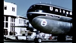 Download United Boeing 377 Stratocruiser Hawaii Travelogue - 1950 Video