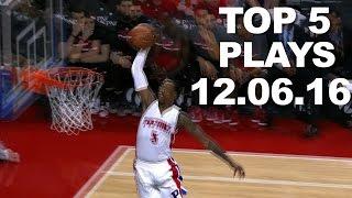 Download Top 5 NBA Plays: 12.06.16 Video
