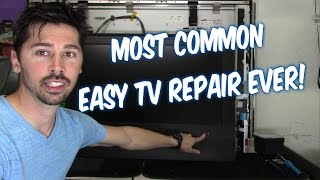 Download WATCH THIS VIDEO BEFORE THROWING OUT YOUR BROKEN FLAT SCREEN TV!!! Video