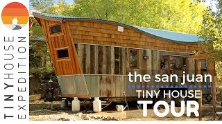 Download Creative Couple Builds an Amazing Tiny House with Reclaimed Materials Video