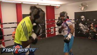 Download Terence Crawford vs. Yuriorkis Gamboa: Full Gamboa sparring session Video