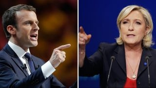 Download Le Pen, Macron advance to second round of France's election Video