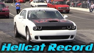 Download Dodge Demon's Daddy - Fastest Hellcat in the World Goes FASTER Video