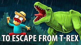 Download Is It Possible To Escape From A Dinosaur? Video