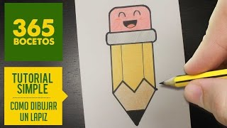 Download COMO DIBUJAR UN LAPIZ KAWAII PASO A PASO - Dibujos kawaii faciles - How to draw a pencil Video