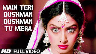 Download 'Main Teri Dushman, Dushman Tu Mera' Full VIDEO Song | Nagina | Rishi Kapoor, Sridevi Video