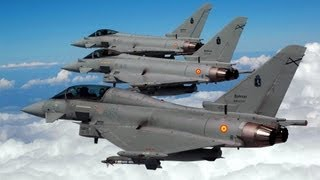 Download ★ AVION DE COMBATE EUROFIGHTER ★ MEJOR CAZABOMBARDERO DEL MUNDO Video