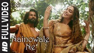 Download Nainowale Ne Full Video Song | Padmaavat | Deepika Padukone | Shahid Kapoor | Ranveer Singh Video