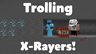 Download TROLLING HACKERS WITH XRAY!!! (FUNNY MINECRAFT ANIMATION) Video