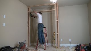 Download How to Build a Closet Frame / Bedroom Closet. Part 1. Строим кладовку Video