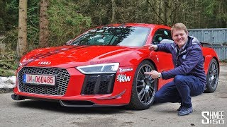 Download 802hp MTM Supercharged R8 V10 - Hold on Tight!   TEST DRIVE Video