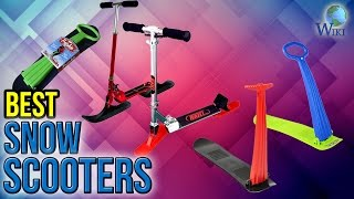 Download 8 Best Snow Scooters 2017 Video
