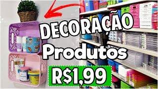 Download DIY: DECORAÇÃO COM PRODUTOS DE LOJAS DE R$1,99 Video