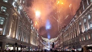 Download Regent Street Christmas Lights Switch On 2018 London Video