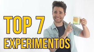 Download TOP 7 EXPERIMENTOS PARA NIÑOS - Experimentos para hacer en casa (RECOPILACIÓN) Video