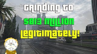 Download GTA Online Grinding To $813 Million Legitimately And Helping Subs Video