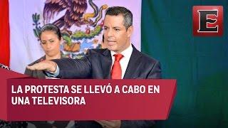 Download Alejandro Murat rinde protesta como gobernador en Oaxaca Video