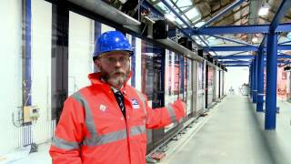 Download Crossrail railway systems: Platform screen doors installation trial Video