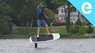 Download First ride: Lift eFoil electric hydrofoil board on Electrek Video