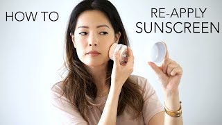 Download How To Reapply Sunscreen Over Makeup Video