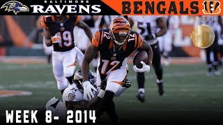 Download Dalton Sneaks the Bengals Into First! (Ravens vs. Bengals, 2014) | NFL Vault Highlights Video