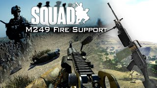 Download M249 FIRE SUPPORT | Squad (Alpha): US Army Infantry Gameplay [60fps] Video