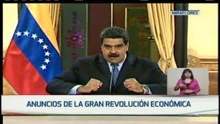 Download Nicolás Maduro hace anuncios en materia económica 17/08/2018 Video