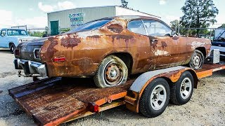 Download JUNKYARD PLYMOUTH GETS A NEW HOME! Video