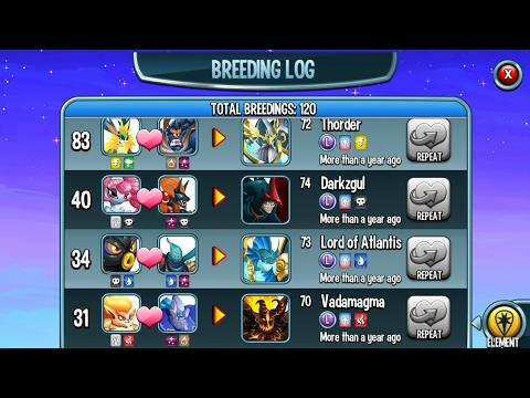 How To Breed Legendary Monsters, Monster Legends