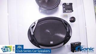 Download JBL Club Series Car Speakers | CES 2016 Video