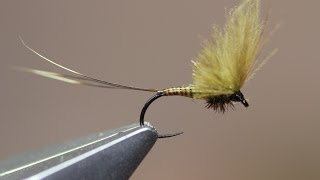 Download BWO Upright CDC wing SMHAEN STYLE (dry fly) Video