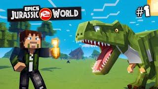 Download EPiC'S Jurassic World: MINECRAFT DINOSAURS | Custom Modded Survival [Minecraft 1.8 Roleplay] Video