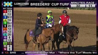 Download Good Magic Wins Sentient Jet Breeders' Cup Juvenile Grade I Race 10 at Del Mar 11/04/17 Video