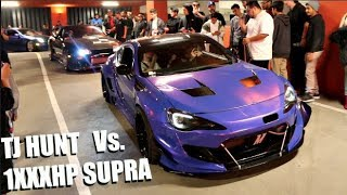 Download TJ HUNT Vs. 800HP AK47 SUPRA! Shutting Down HUGE LA Car Meet Video