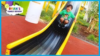 Download Super Huge Giant Slide at Legoland Japan with Ryan's Family Review! Video