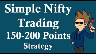 Download Simple Nifty fut positional or Intraday strategy - sharmastocks Video