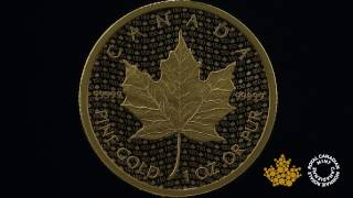 Download 1 oz. 99.999% Pure Gold Coin – Canada 150 Iconic Maple Leaf Video