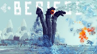 Download Besiege - Cooking A Tesla?, Giant 3-Headed Hydra & A Flying Turtle! - Besiege Best Creations Video